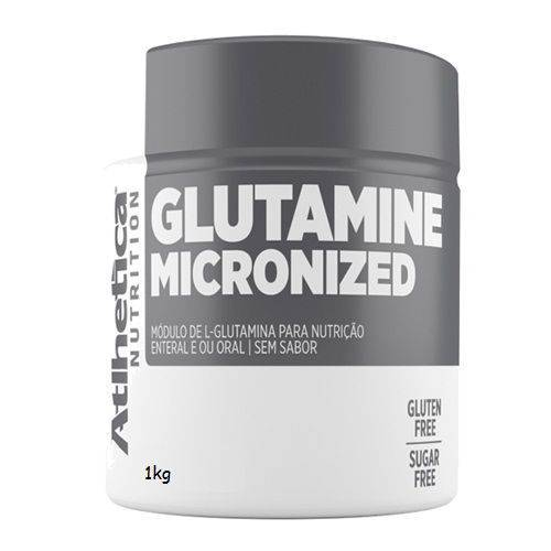 Glutamine Micronized - 1000g - Atlhetica Nutrition