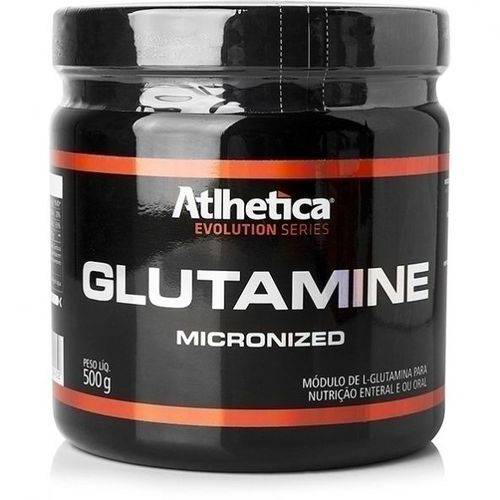 Glutamine Micronized 500g Atlhetica