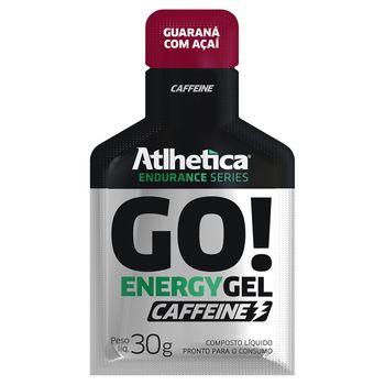 GO! Energy Gel Caffeine 10 Sachês Guaraná com Açaí - Atlhetica Nutrition