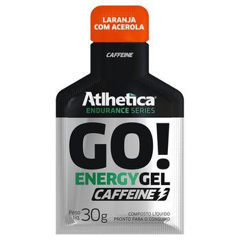 GO! Energy Gel Caffeine 10 Sachês Laranja com Acerola - Atlhetica Nutrition