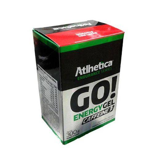 Go Energy Gel Caffeine-Caixa com 10 Sachês de 30g-Atlhetica