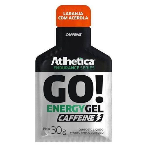 Go! Energy Gel Caffeine Endurance Series - 10 Sachês - Atlhetica Nutrition