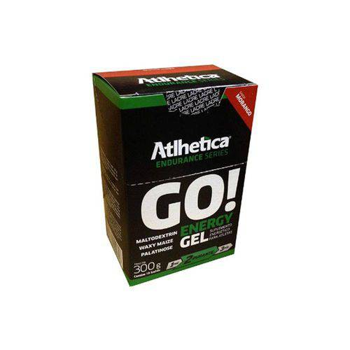 Go! Energy Gel Endurance Series - 10 Sachês - Atlhetica Nutrition - Atlhetica Nutrition