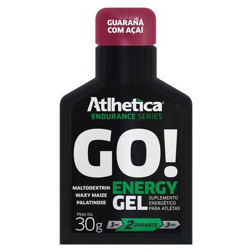 Go! Energy Gel (display com 10 Saches de 30g) Guar