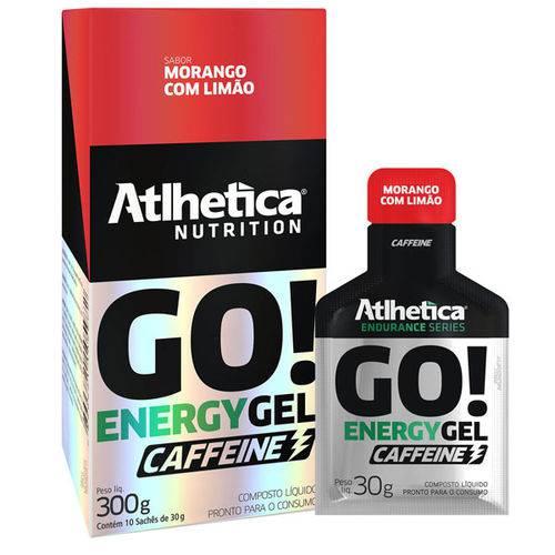 Go Energy Gel - Morango com Limão - 30G - Atlhetica