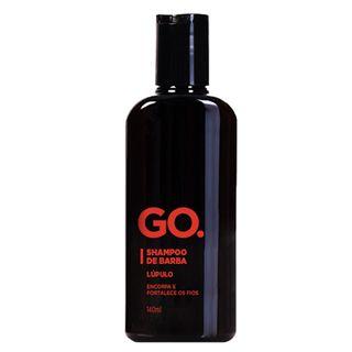Go Shampoo de Barba Lúpulo Go - Shampoo para Barba 140ml