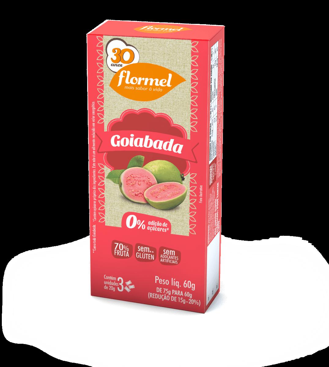Goiabada Zero 60g - Flormel