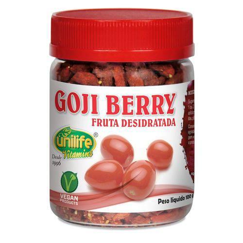 Goji Berry Desidratada 100gr Unilife
