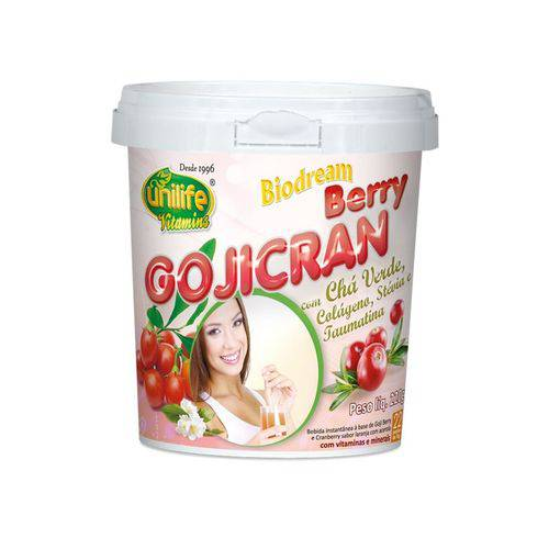 Goji Cran Goji Berry, Cranberry Colageno 220g Unilife