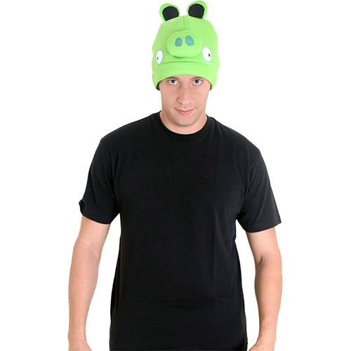 Gorro Angry Birds Adulto Porco Verde Sulamericana Fantasias