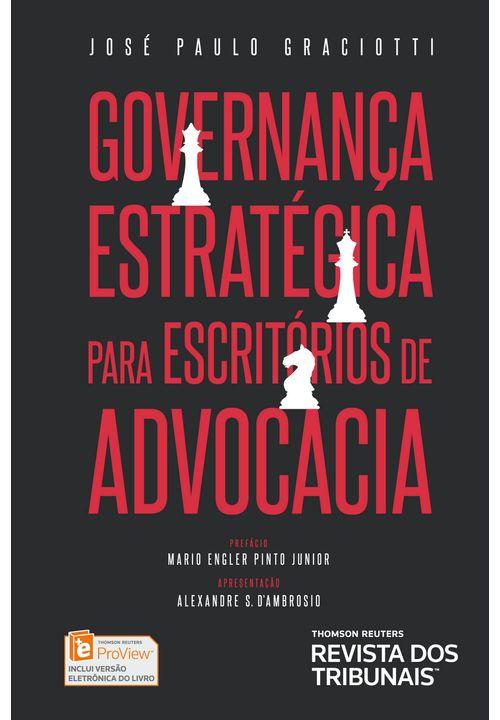 Governança Estratégica para Escritórios de Advocacia - 1ª Edição