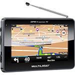 """GPS Automotivo Multilaser Tracker III Tela 4,3"""" com TV Digital"""
