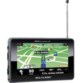 "GPS Multilaser Tracker III Tela 4.3"" TV Digital GP034 Preto"