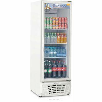 GPTU-570AF Refrigerador Vertical Conveniência Turmalina Gelopar -110V