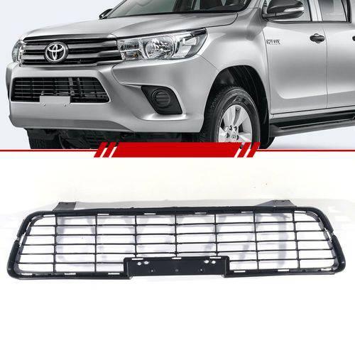 Grade Central Parachoque Dianteiro Toyota Hilux 2016 a 2017