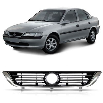 Grade Dianteira Vectra 1997 1998 1999 2000 2001 2002 2003 2004 2005 - com Moldura Cromada