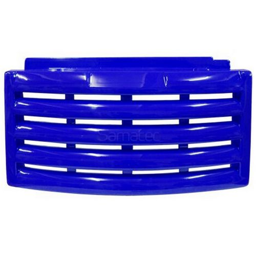 Grade Veneziana Rodapé Freezer Expositor Metalfrio Azul (36x67)