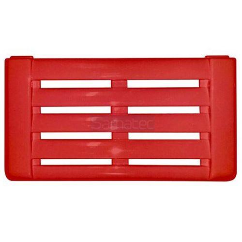 Grade Veneziana Rodapé Freezer Expositor Metalfrio Slin Vermelho (50x28)