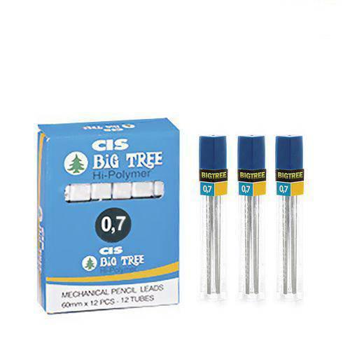 Grafite 0.7 2b Big Tree Caixa com 12 Tubos - Cis