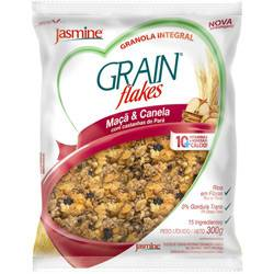Grain Flakes Maçã & Canela 300g - Jasmine