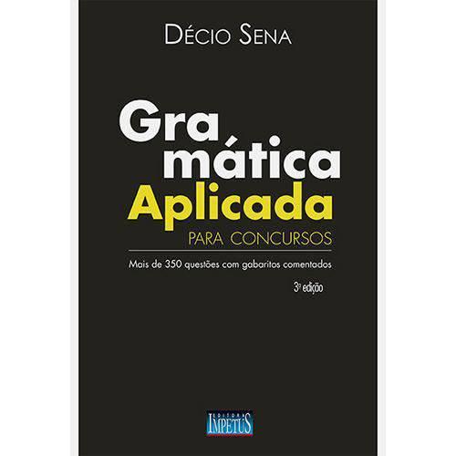 Gramática Aplicada para Concursos - 3ª Edição - 3ª Ed.