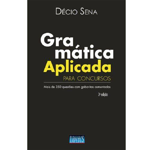 Gramatica Aplicada para Concursos - Impetus