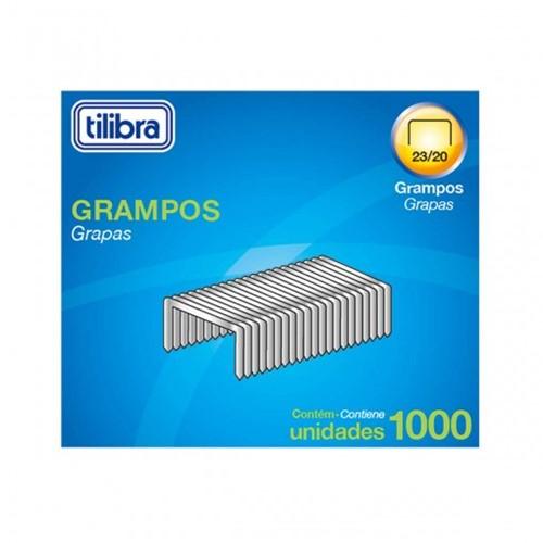Grampo 23/20 90-160 Folhas Galvanizado 1000 Unidades 289141
