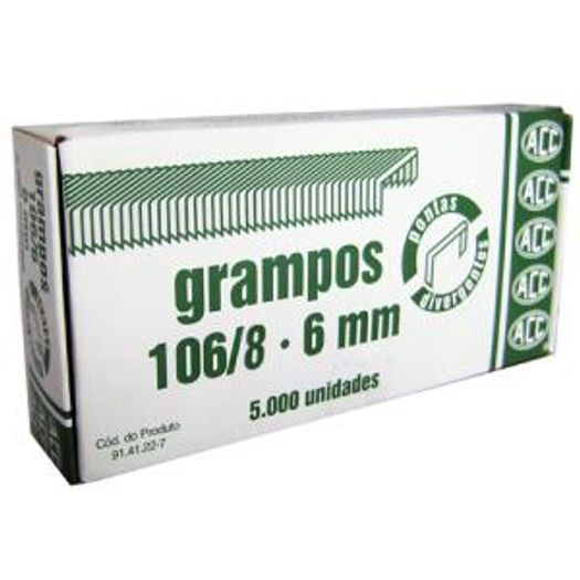 Grampo 106.8 com 5000 Unidades Acc S/L