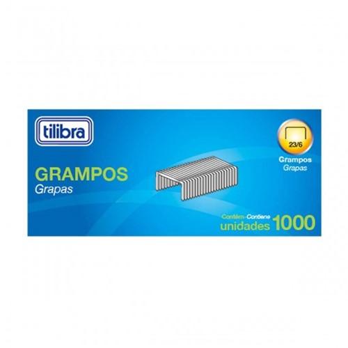 Grampo 23/6 2-25 Folhas Galvanizado 1000 Unidades 239607