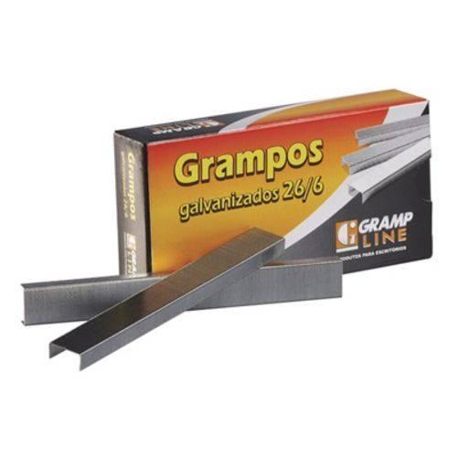 Grampo 26/6 Galvanizado C/5000 - Grampline