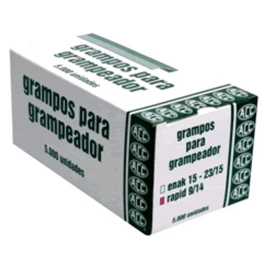 Grampo 9.14 com 5000 Unidades Rapid Industrial Acc S/L