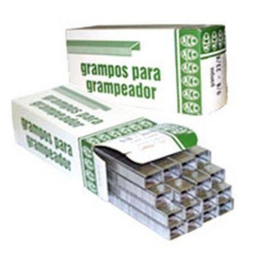 Grampo para Grampeador 23/8 Galvanizado 5000 Grampos Acc Caixa