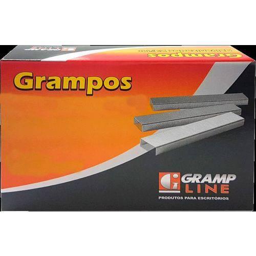 Grampo para Grampeador 23/8 Galvanizado 5000 Grampos Gramp Line Caixa