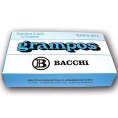 Grampo para Grampeador 9/14 Galvanizado 5000 Grampos Bacchi Caixa