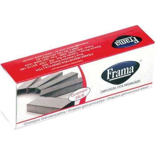 Grampos 26/6 Galvanizado C/5000 Frama
