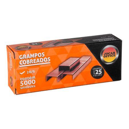 Grampos Cobreado 26/6 5000 Unidades Leonora