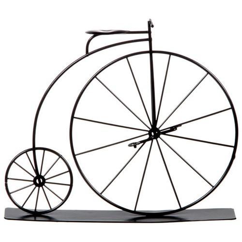 Grand Bicycle Adorno 19 Cm Preto