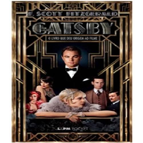 Grande Gatsby, o - Capa do Filme - Pocket