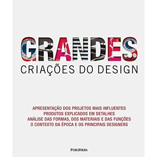 Grandes Criacoes do Design - Publifolha