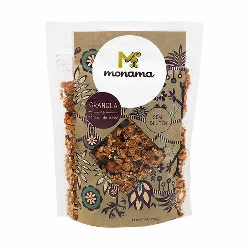 Granola com Açúcar de Coco - Monama - 200g