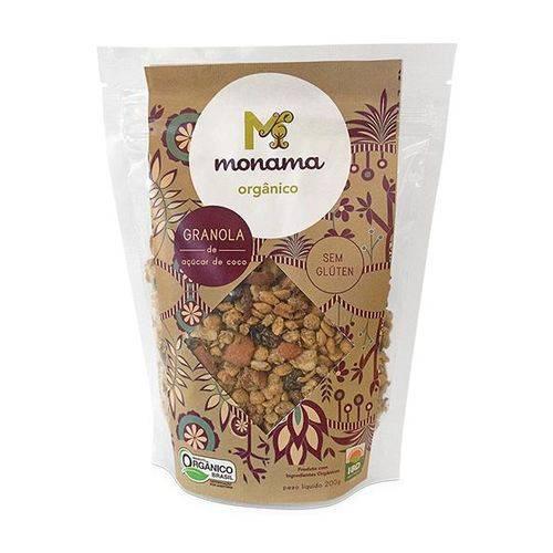 Granola de Açúcar de Coco Sem Glúten Orgânico 200g - Monama