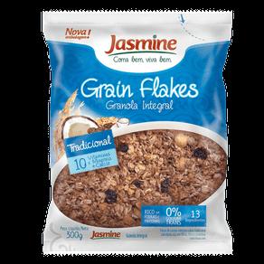 Granola Integral Jasmine Grain Flakes Tradicional 300g