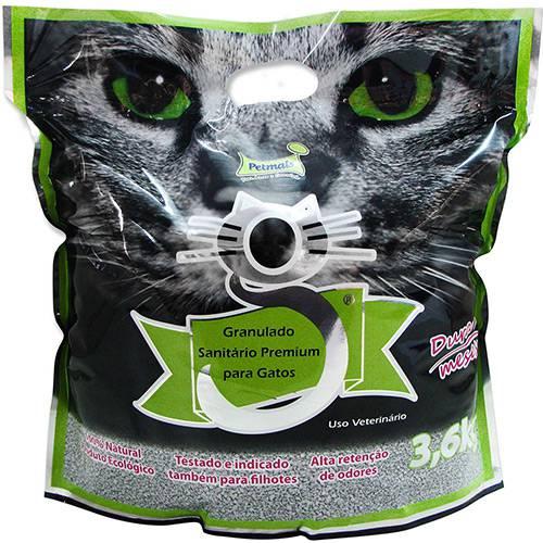 Granulado Fino Sanitário para Gatos G-Premium 3,6kg Petmais