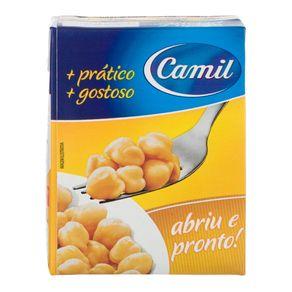 Grão de Bico Cozido Camil 380g