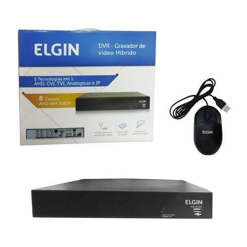 Gravador de Vídeo Dvr 16 Canais 5 em 1 Ip 1080N Ahd Cvi TVI2.0 - Elgin