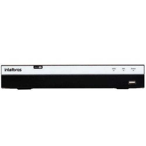 Gravador Digital de Vídeo 08 Canais Mhdx Multi-hd 3008 4580285 Intelbras