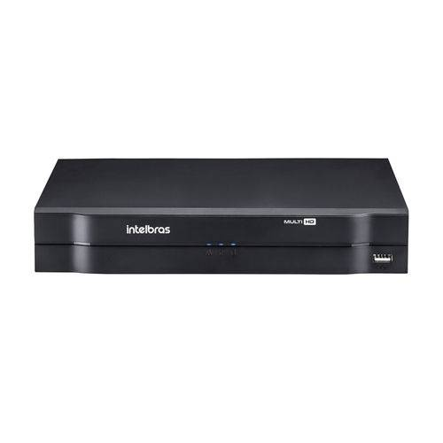 Gravador Digital de Vídeo Intelbras Dvr Multihd 4 Canais 1080n Mhdx 1004 com Hd 1t