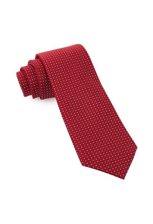 Gravata de Seda Lux Red SD57
