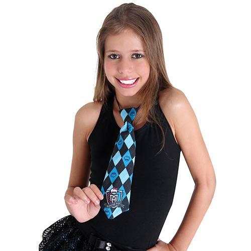 Gravata Monster High Azul Sulamericana Fantasias