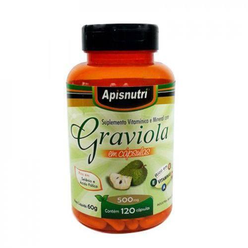 Graviola 500mg 120 Cápsulas Apisnutri
